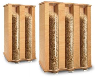 Komo Getreidespeicher mit 2 Kammer