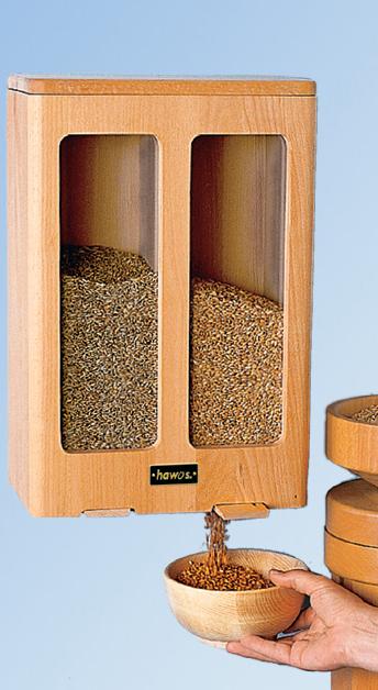 Hawos Getreidespeicher mit 2 Kammern