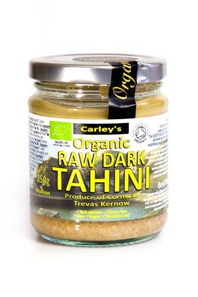 Carley's Bio Dunkler Tahini Aufstrich 250 g