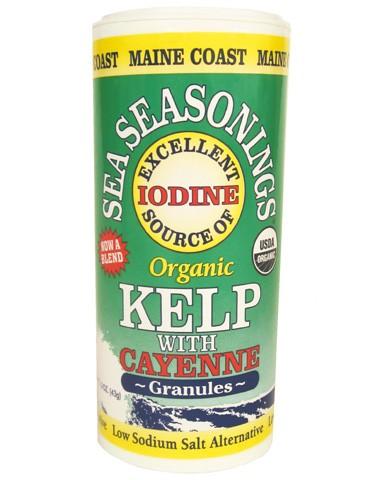 Maine Coast Bio Seetang Granulat mit Cayenne 43 g