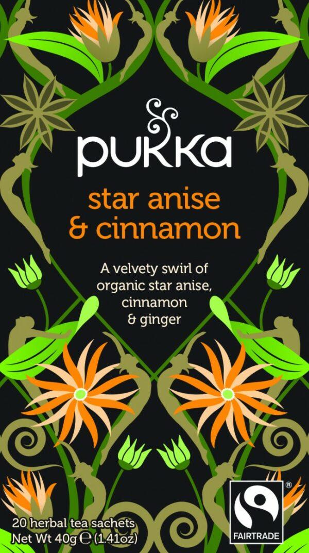 Bio Pukka Teemischung Star Anise & Cinnamon 20 Beutel