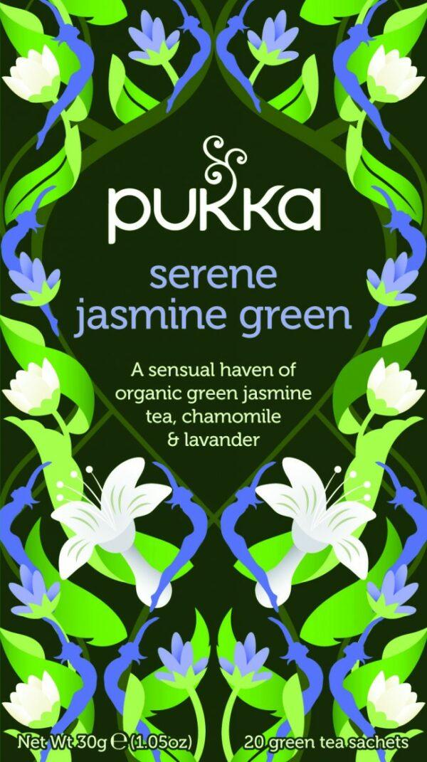 Bio Pukka Teemischung Serene Jasmine Green 20 Beutel