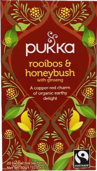 Bio Pukka Teemischung Rooibos & Honeybush 20 Beutel