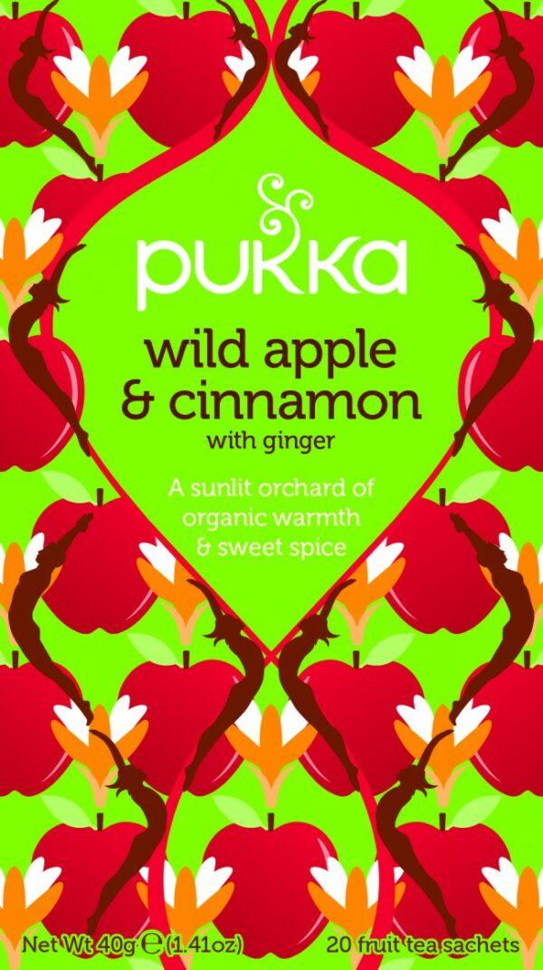 Bio Pukka Teemischung Wild Apple & Cinnamon 20 Beutel