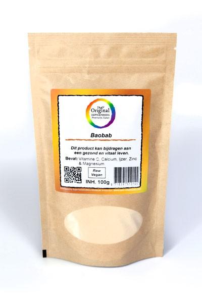 Bio Baobab Superfood Fruchtpulver roh 100 g