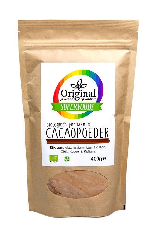 Kakaopulver roh 400 g