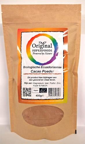 Kakao Pulver Criollo roh 400 g