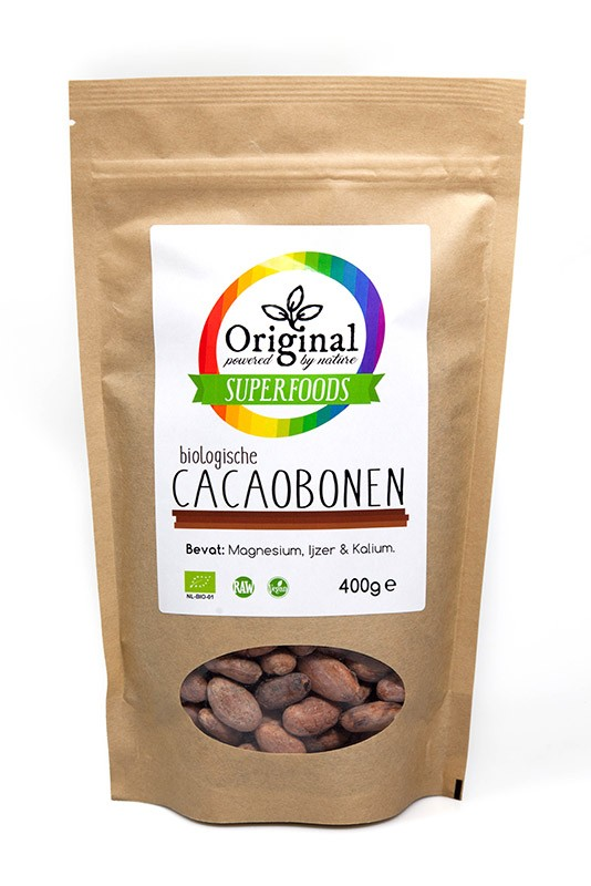 Kakaobohnen 400 g