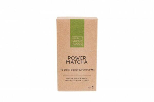 Power Matcha Mix Superfood Pulver 10 x 5 g
