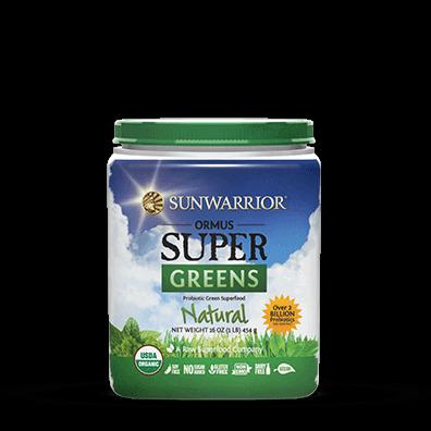 Sunwarrior Organic Ormus Supergreens Natural 454 g