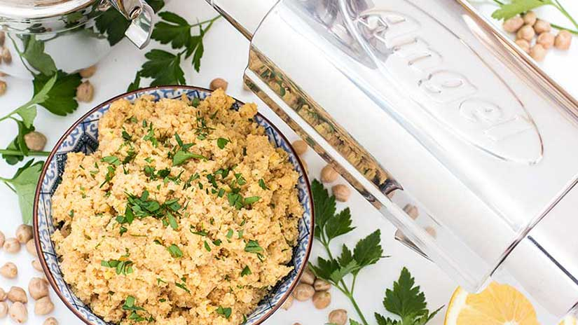 Rohkost Hummus selber machen